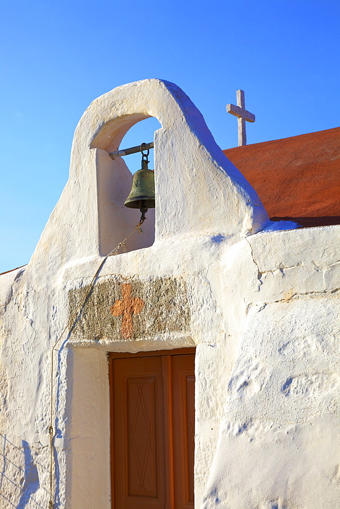 Small church, Patmos, Dodecanese, Greek Islands, Greece, Europe