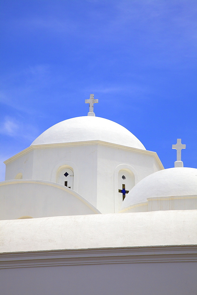 Church at Kambos, Patmos, Dodecanese, Greek Islands, Greece, Europe