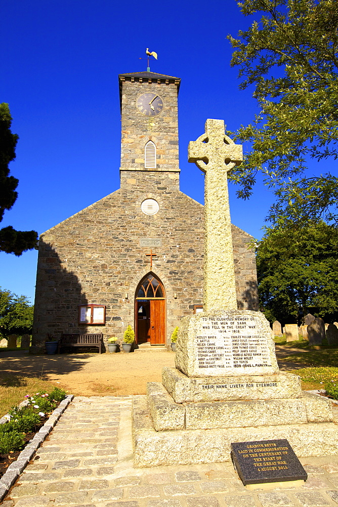 St. Peter's Church, Sark, Channel Islands, United Kingdom, Europe