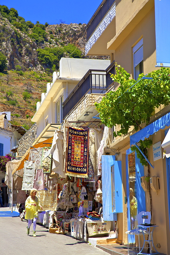 Shopping In Kritsa, Crete, Greek Islands, Greece, Europe - 1126-1573
