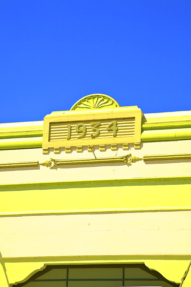 Art Deco Building, Napier, Hawkes Bay, New Zealand, South West Pacific Ocean - 1126-1609