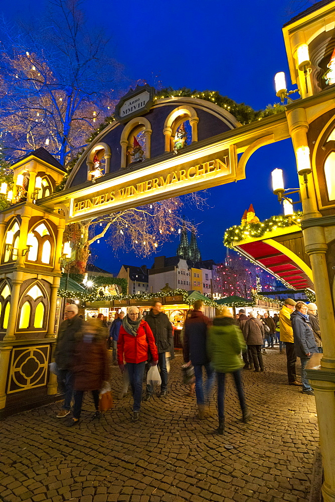 Cologne Christmas Market, Cologne, Germany, Europe