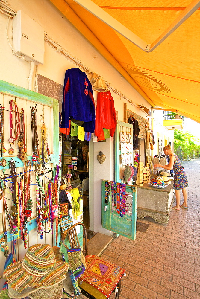 Hippy Shop, Santa Gertrudis de Fruitera, Ibiza, Balearic Islands, Spain, Europe