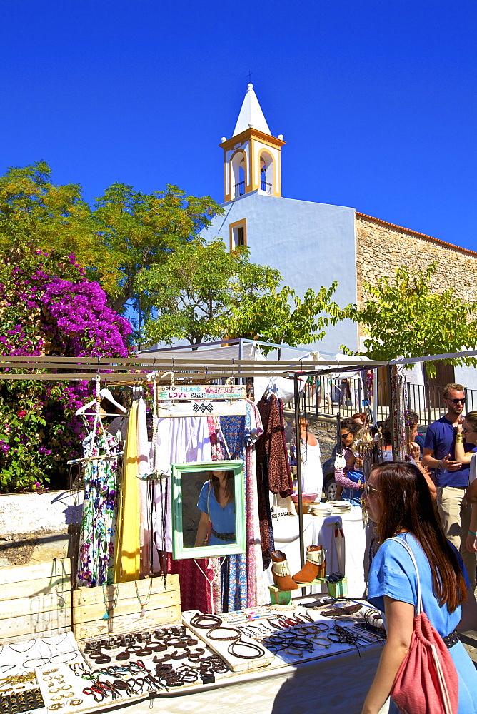 San Juan Market, Sant Joan de Labritja, Ibiza, Balearic Islands, Spain, Mediterranean, Europe