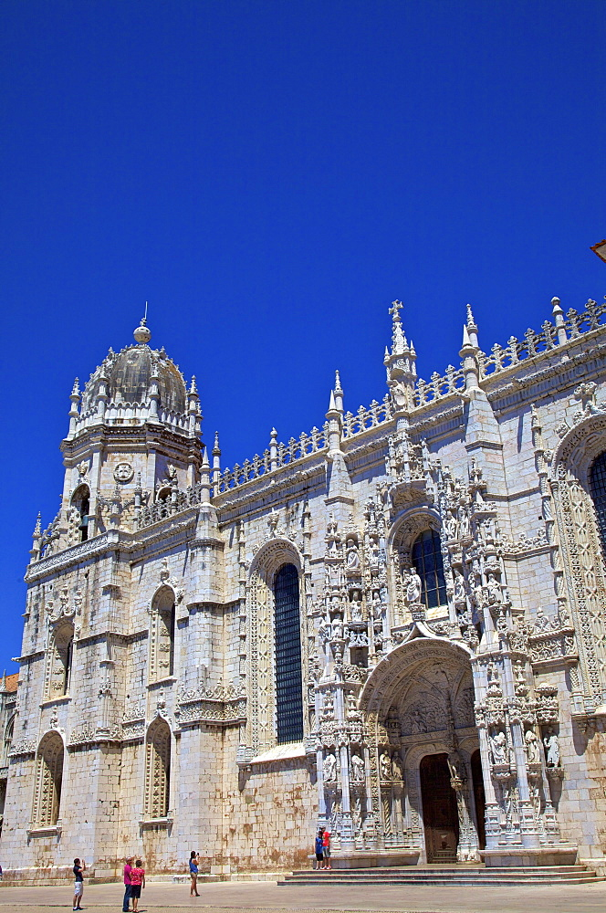 Mosteiro dos Jeronimos, Lisbon, Portugal, South West Europe
