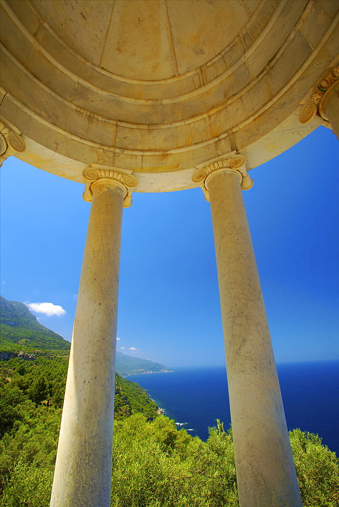 Archduke's Rotunda, Son Marroig, Mallorca, Spain, Europe