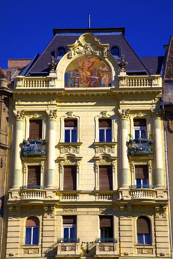 Historic Pharmacy Building, Budapest, Hungary, Europe