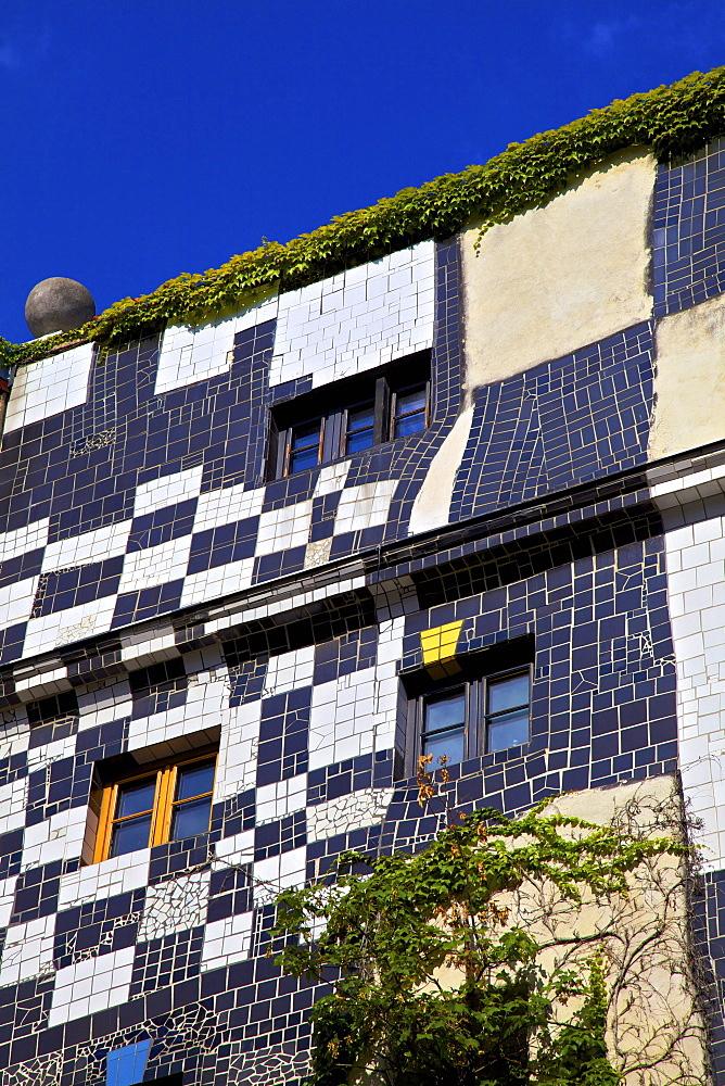 Kunsthaus Wien Hundertwasser Museum, Vienna, Austria, Europe