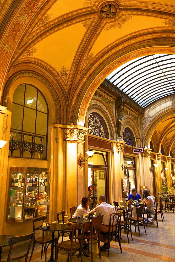 Cafe in Freyung Passage, Vienna, Austria, Europe