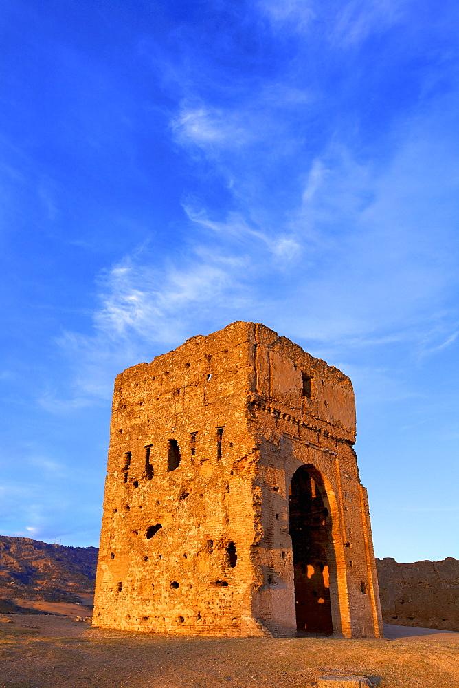 Merinid Tomb, Fez, Morocco, North Africa, Africa