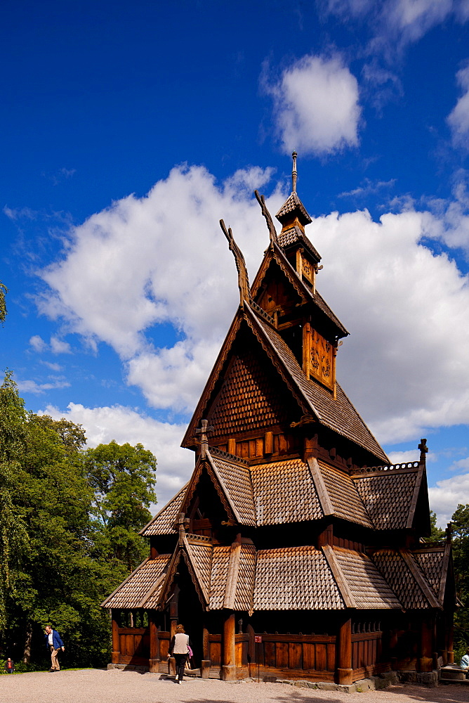 Wooden Church, Bygdoy, Oslo, Norway