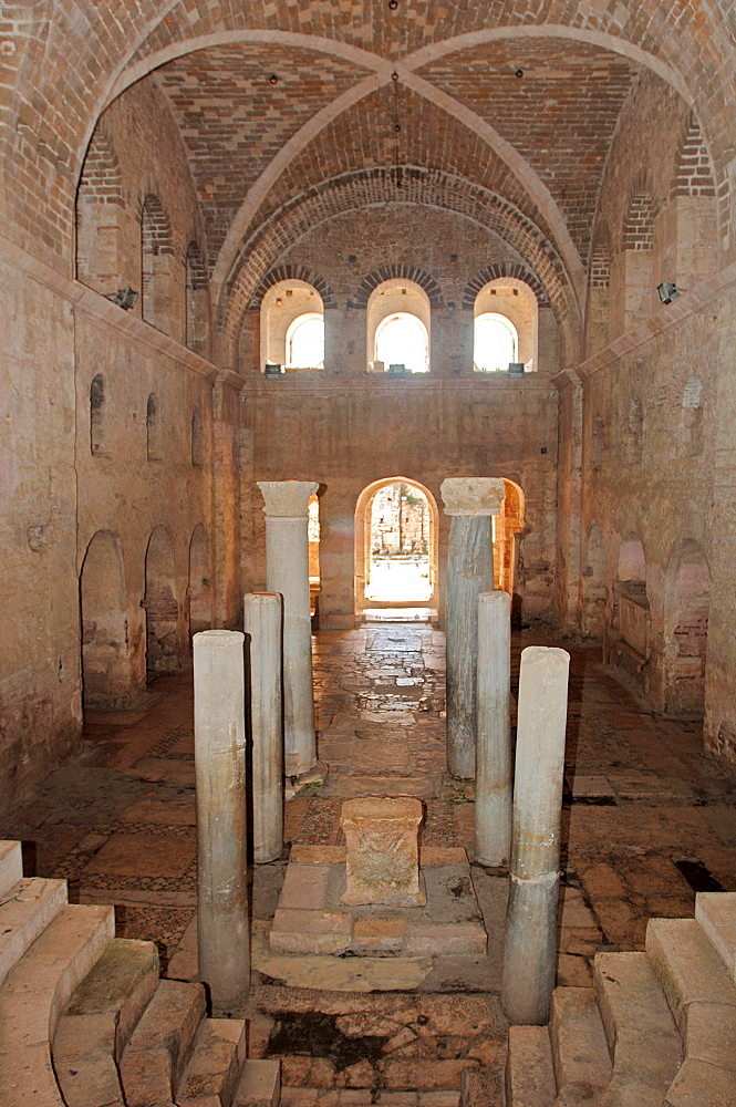 Altar, apsis, Cathedral of St Nicholas, Demre, Lycia, Antalya, Turkey / ancient Myra, Santa Claus, bishop of Demre