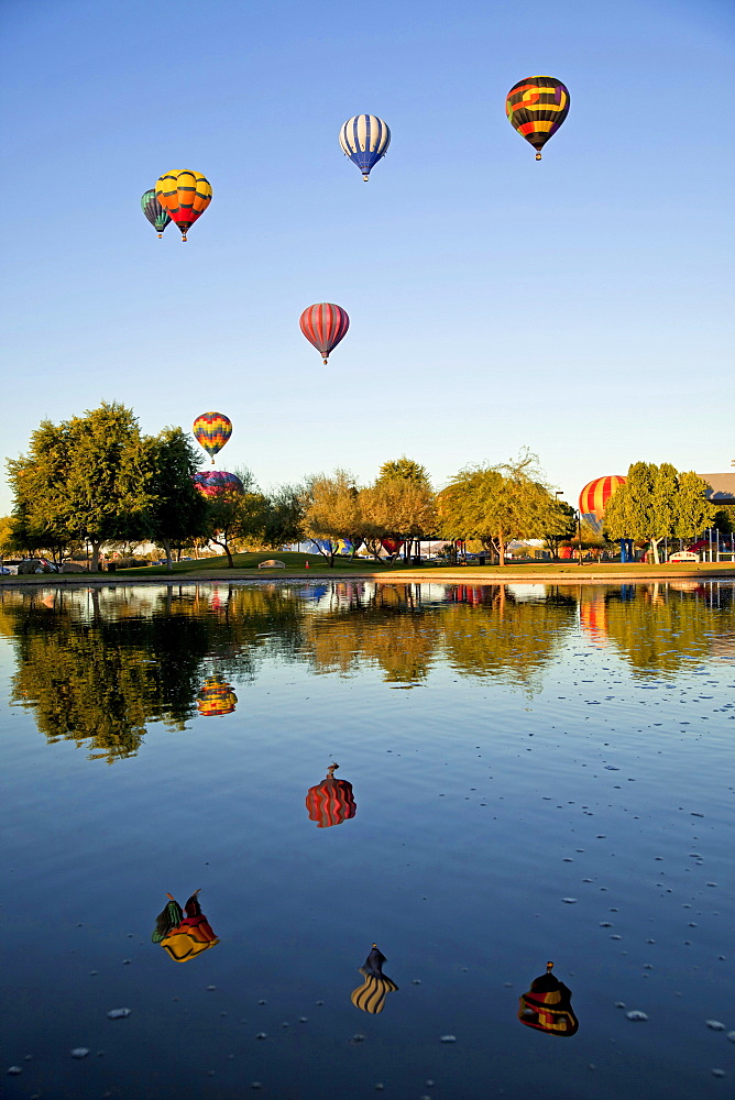 Ballon Festival, hot-air balloon, hot air balloons, Yuma, Yuma County, Arizona, USA