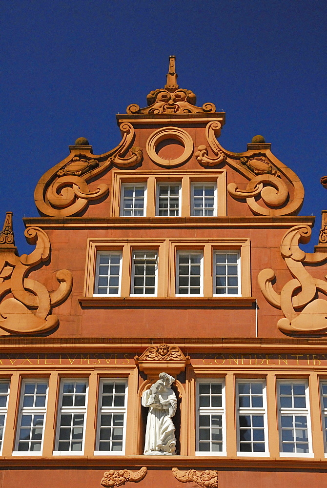 Red House, primary market, Trier, Germany, Europe, Rhineland-Palatinate, Rotes Haus