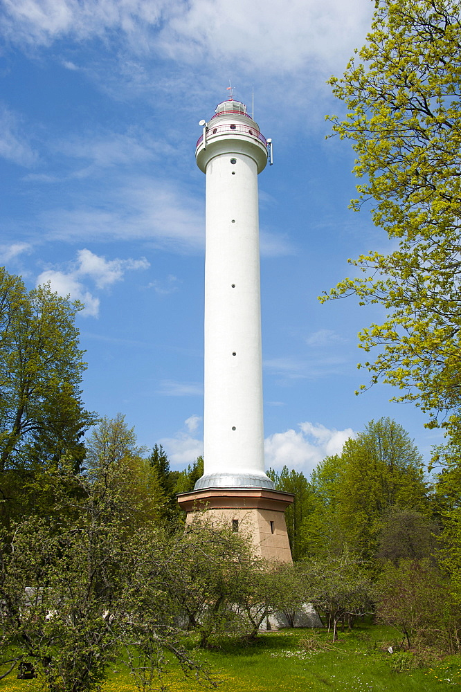 Lighthouse, Mikelbaka, Latvia, Baltic states, Europe