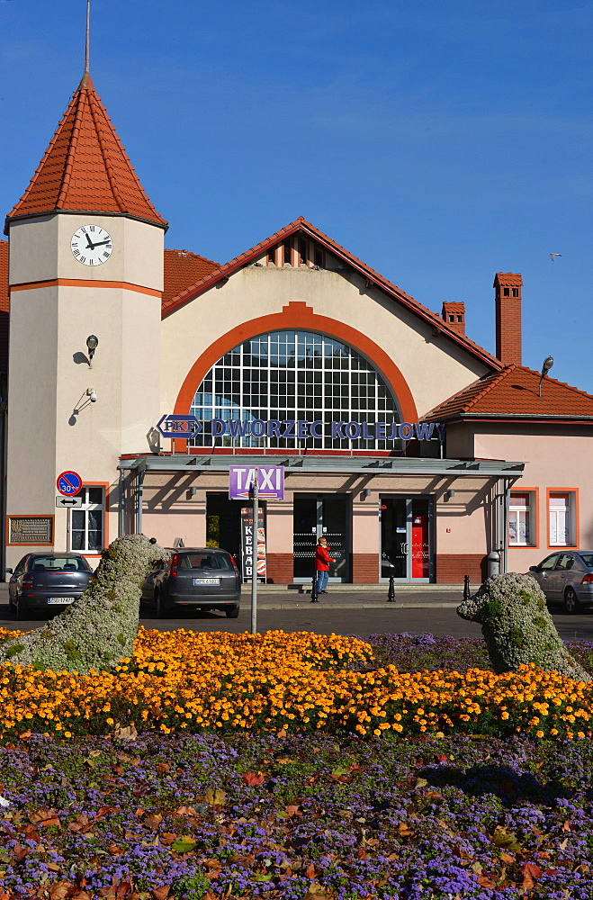 Railway Station, Kolobrzeg, Poland