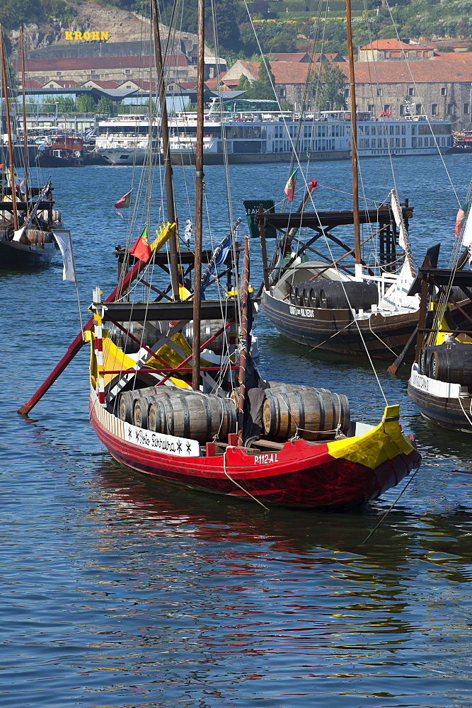 Rabelos on the Douro, Oporto, Portugal