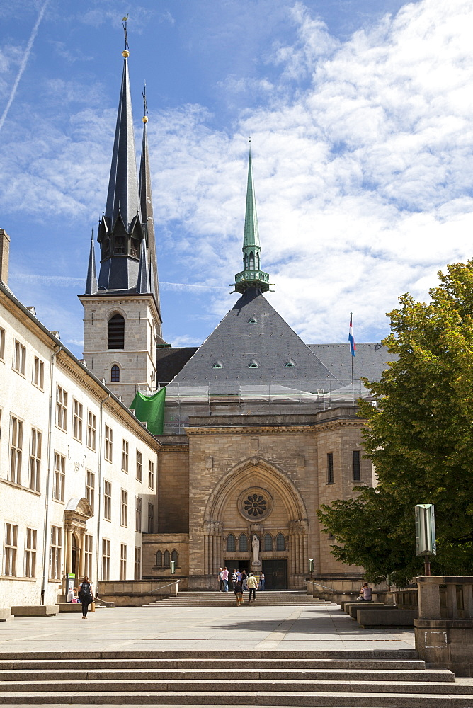 Cathedral Our Lady, Constitution square, Luxembourg