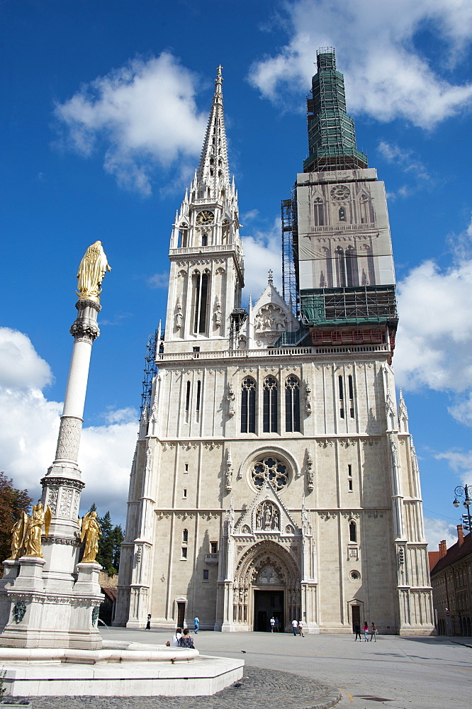Cathedral of the Assumption Blessed Virgin Mary, Zagreb, Croatia