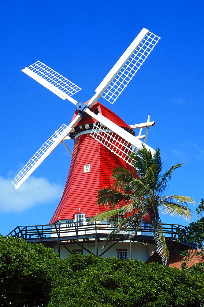 Windmill, Palm Beach, Aruba, Caribbean