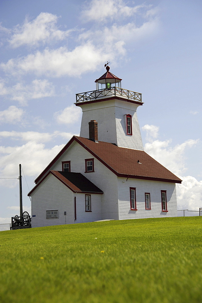 Lighthouse Wood Islands, Prince Edward Island, Canada