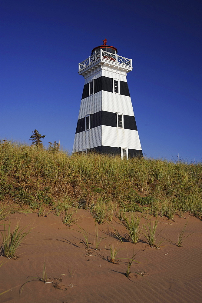 Lighthouse West Point, Prince Edward Island, Canada