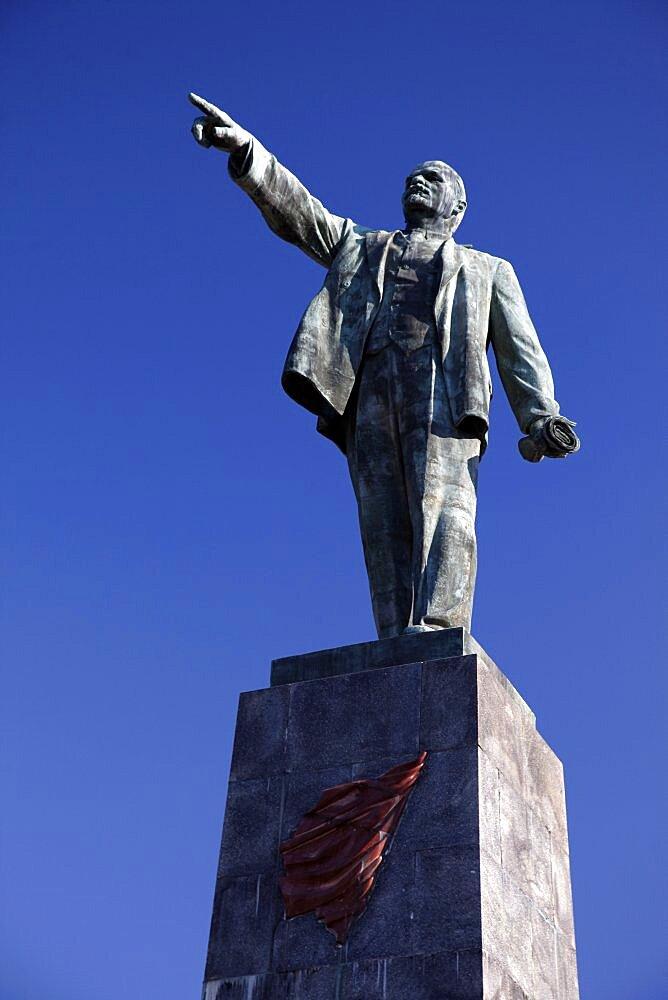 Lenin Statue, Sevastopol, Crimea, Ukraine, Europe
