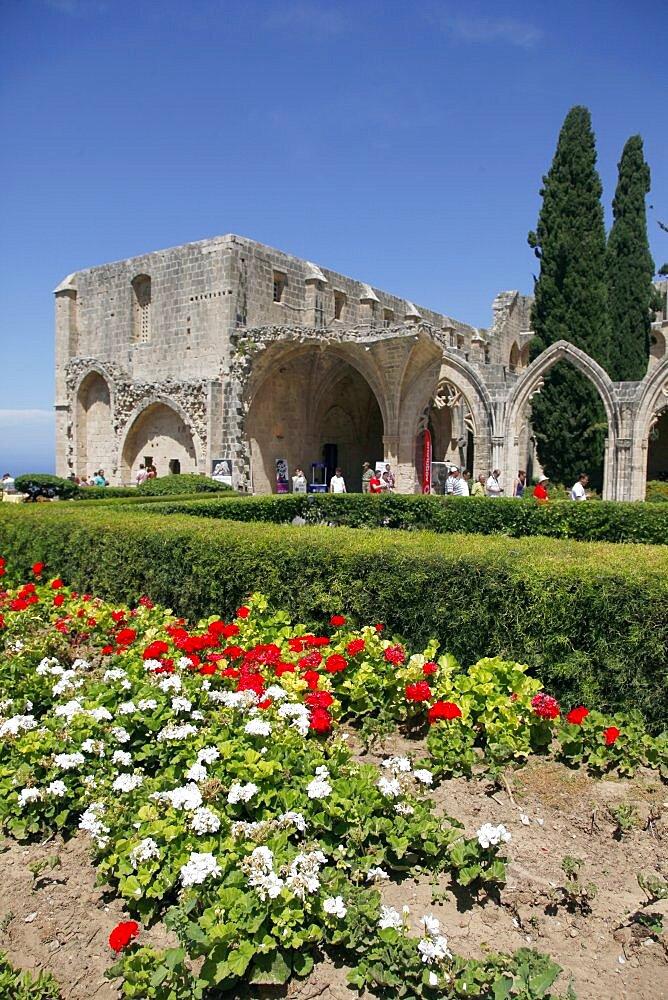 Bellapais Abbey Ruin, Kyrenia, Northern Cyprus, Europe