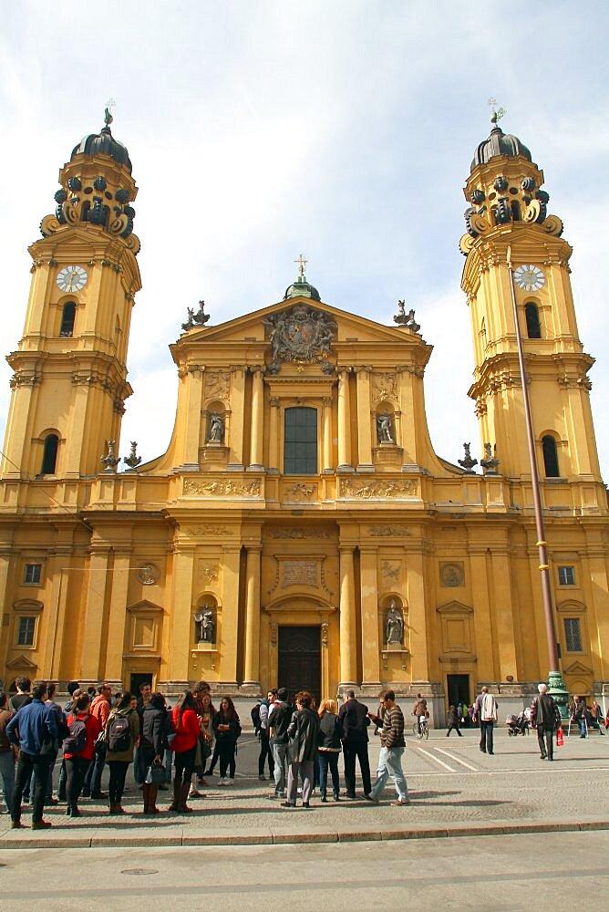 The Theatine Church of St. Cajetan, Munich, Bavaria, Germany, Europe