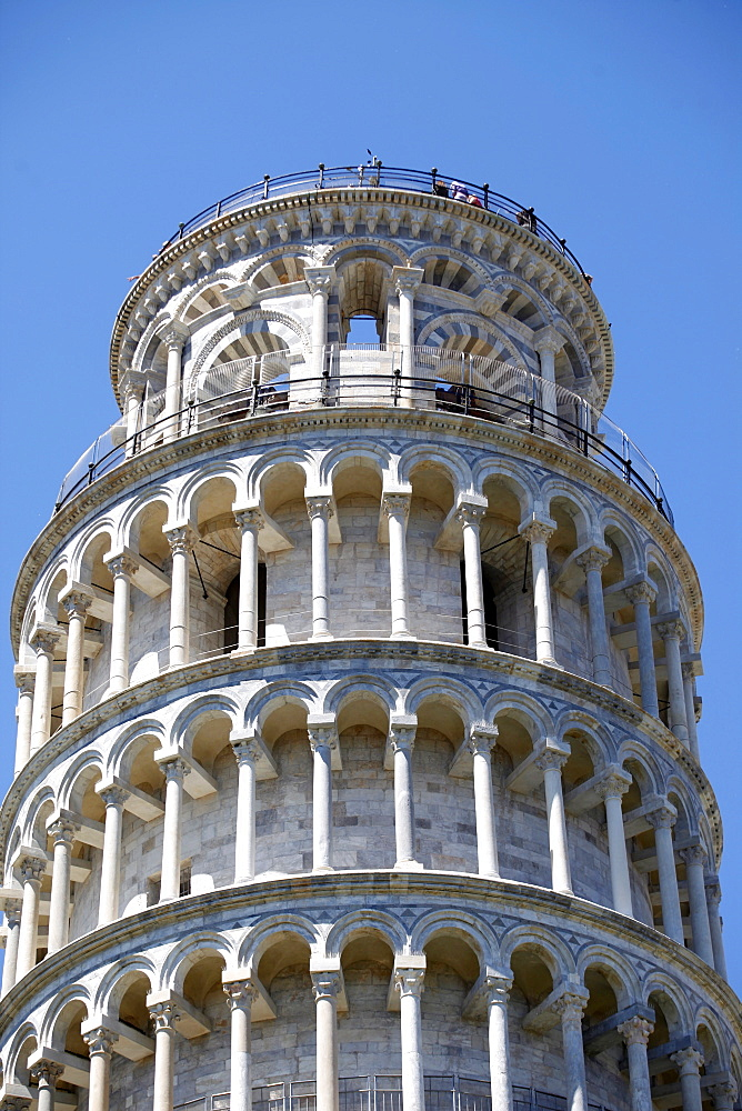 The Leaning Tower of Pisa, UNESCO World Heritage Site, Pisa, Tuscany, Italy, Europe