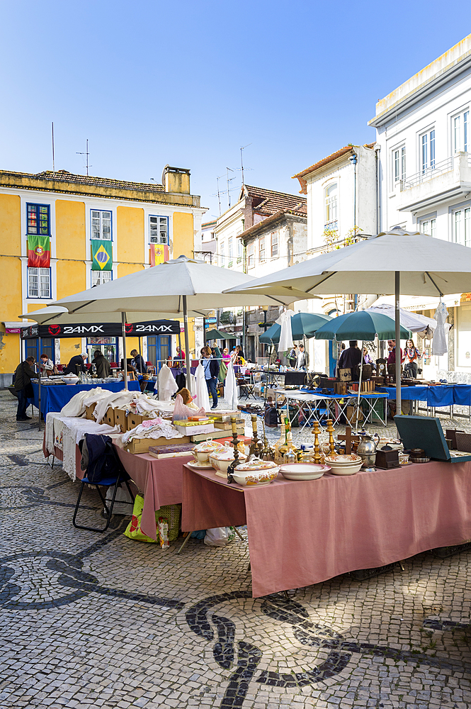 Flea market, Aveiro, Venice of Portugal, Beira Littoral, Portugal, Europe