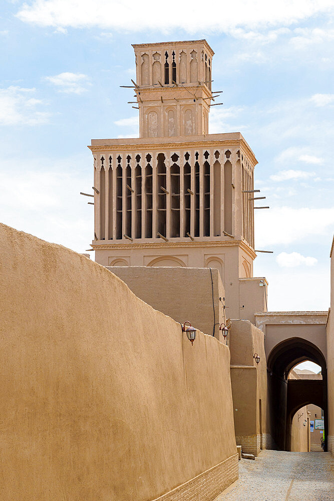 Aghazadeh Mansion and its windcatcher, Abarkook, Yazd Province, Iran - 1131-1319