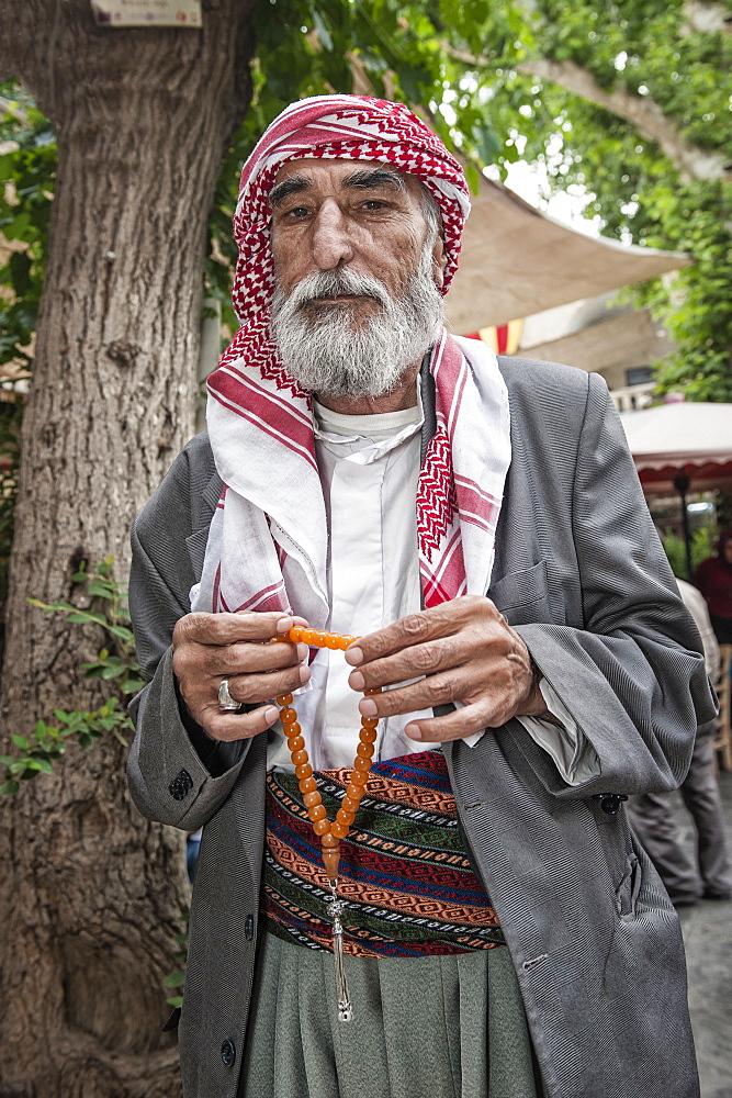 Portrait of a Turkish man, Urfa, Anatolia, Eastern Turkey, Asia Minor, Eurasia