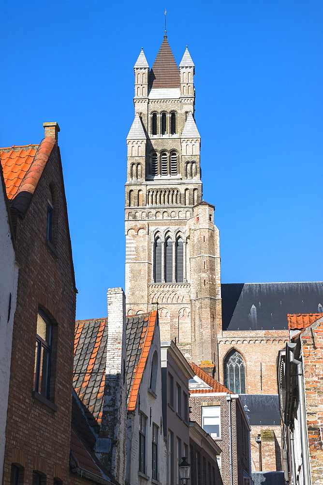 Saint Salvator's Cathedral, Historic center of Bruges, UNESCO World Heritage Site, Belgium, Europe