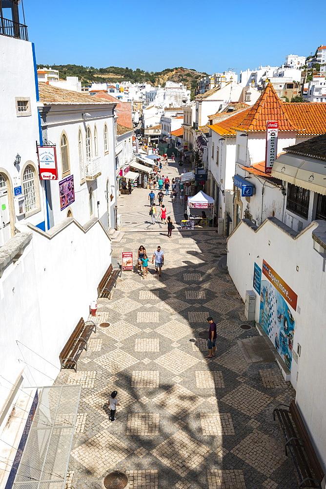 Rua 5 de Outobro, Albufeira, Algarve, Portugal, Europe