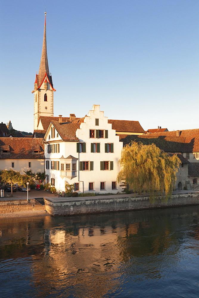 Monastery of St. Georgen, Stein am Rhein, Canton Schaffhausen, Switzerland, Europe