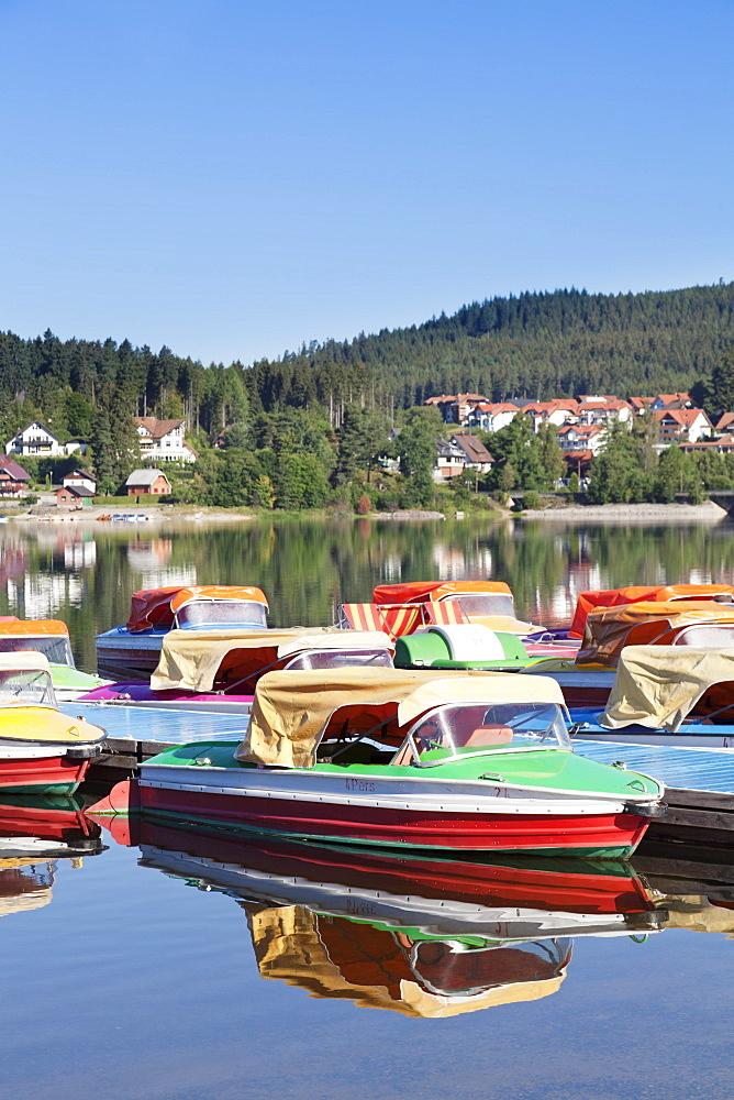 Schluchsee Lake, Black Forest, Baden Wurttemberg, Germany, Europe