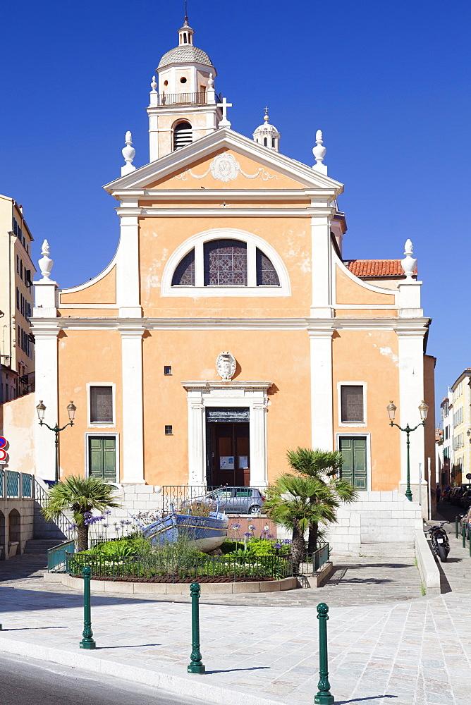 Cathedral, Ajaccio, Corsica, France, Mediterranean, Europe