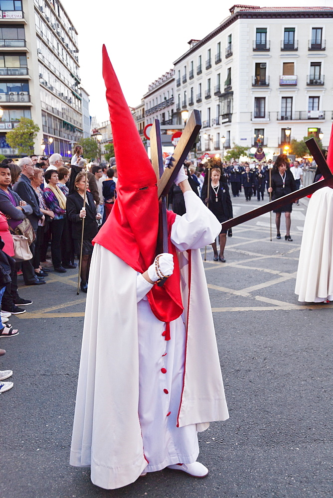 Easter procession, Semana Santa, Madrid, Spain, Europe
