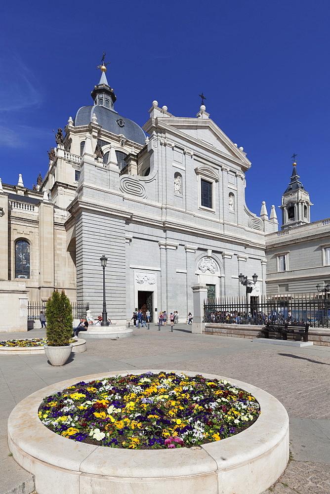 Almudena Cathetral (Santa Maria la Real de La Almudena), Madrid, Spain