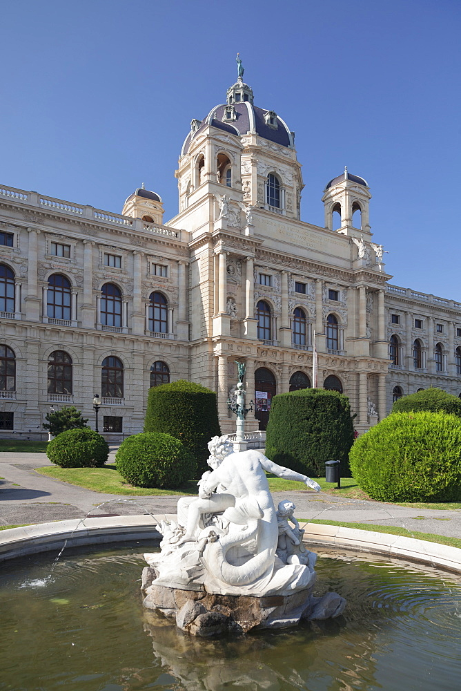 Natural History Museum, Maria Theresien Platz Square, Vienna, Austria, Europe