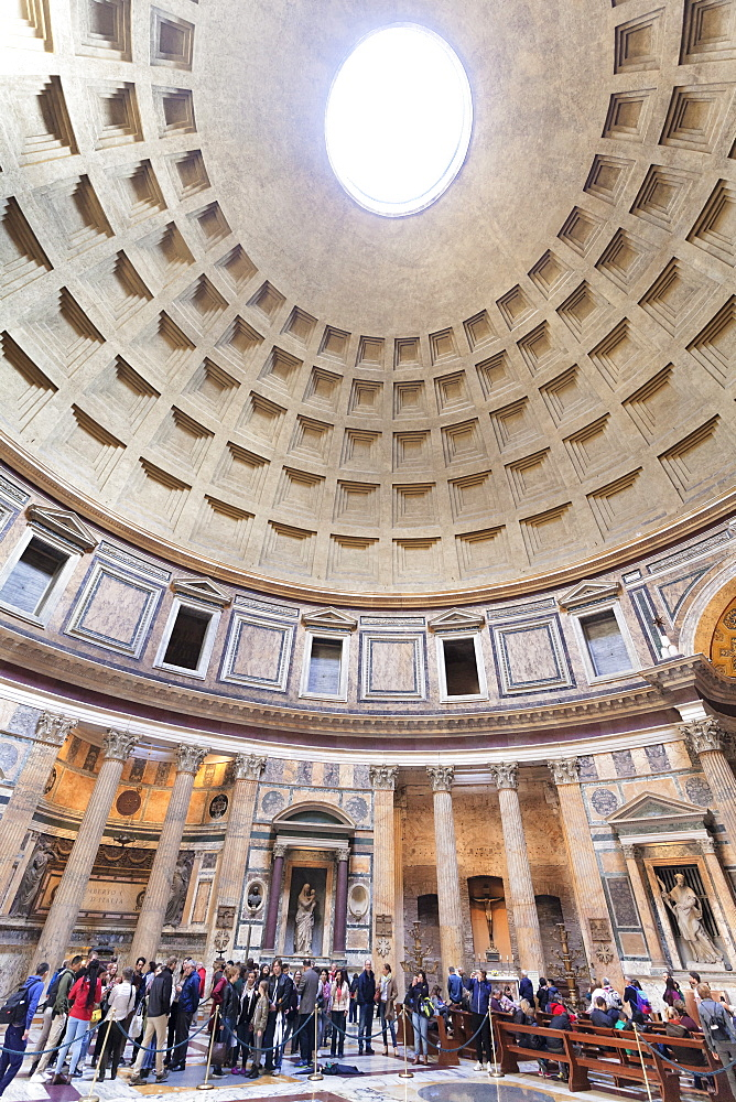 Pantheon, UNESCO World Heritage Site, Rome, Lazio, Italy, Europe - 1160-3844