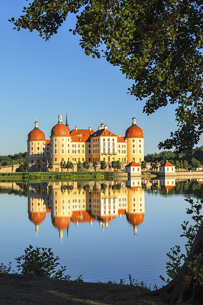 Moritzburg Castle, Moritzburg, Saxony, Germany, Europe