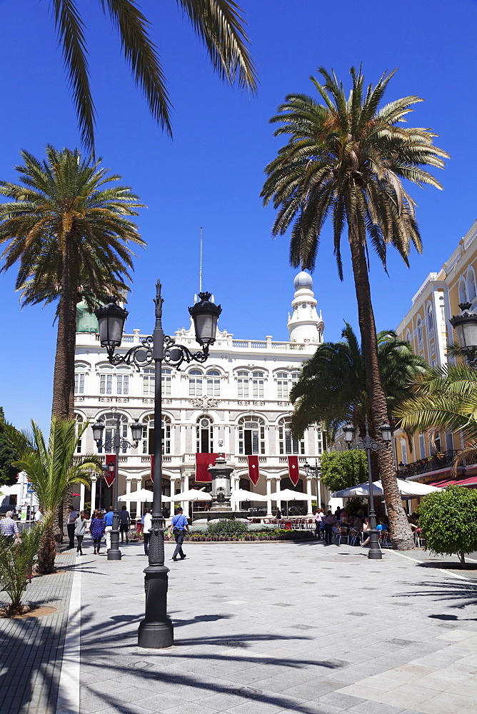 Gabinete Literario, Plaza Cairasco, Las Palmas, Gran Canaria, Canary Islands, Spain, Europe
