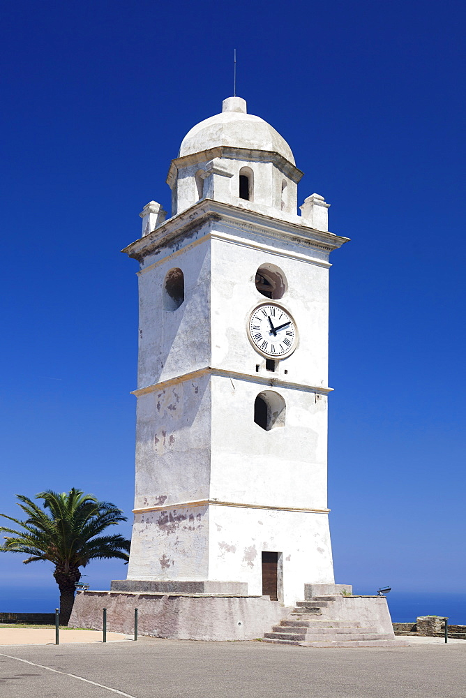 Bell tower, Canari, Corsica, France, Mediterranean, Europe