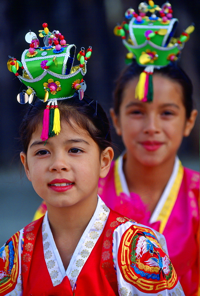 Traditional Dancers, South Korea