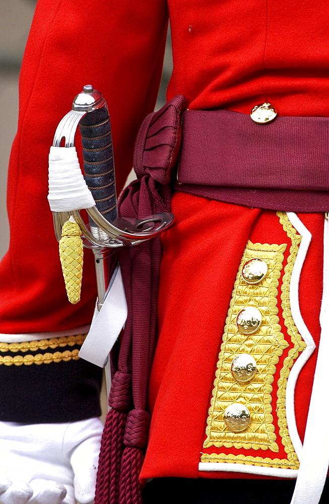 Guardsman in London, United Kingdom.