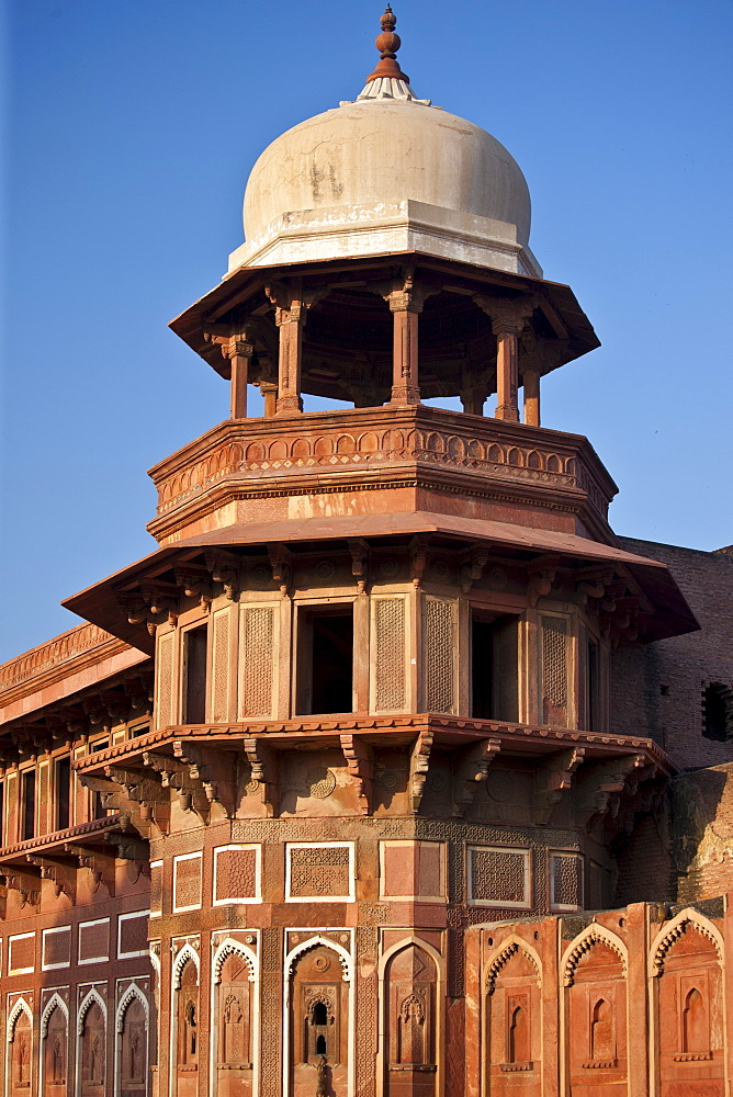 Agra Fort, 17th Century residence of Great Mughals, World Heritage Monument, India