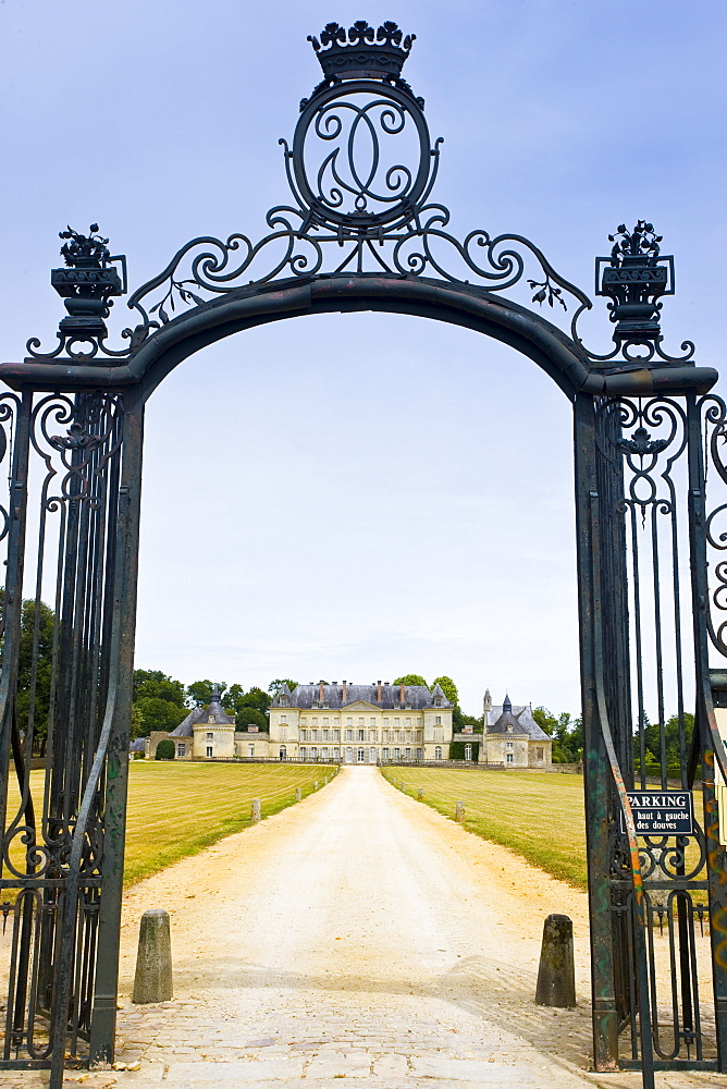 Chateau de Montgeoffroy, 18th Century manor house, by architect Jean-Benoit-Vincent Barre, near Angers, France