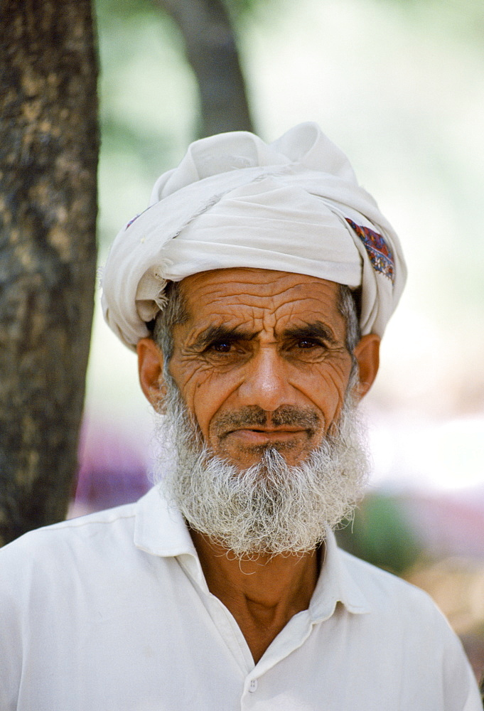 Elderly man wearing traditional clothing in Islamabad, Pakistan